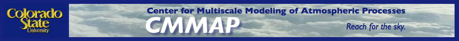 Center for Multiscale Modeling of Atmospheric Processes